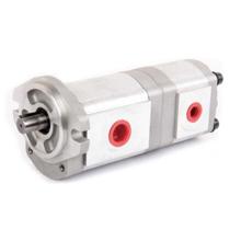 HDYROMAX新鸿液压泵 齿轮泵 HGP-33A系列双联齿轮泵